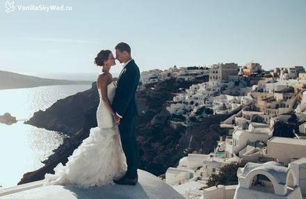 Свадебные церемонии на острове санторини