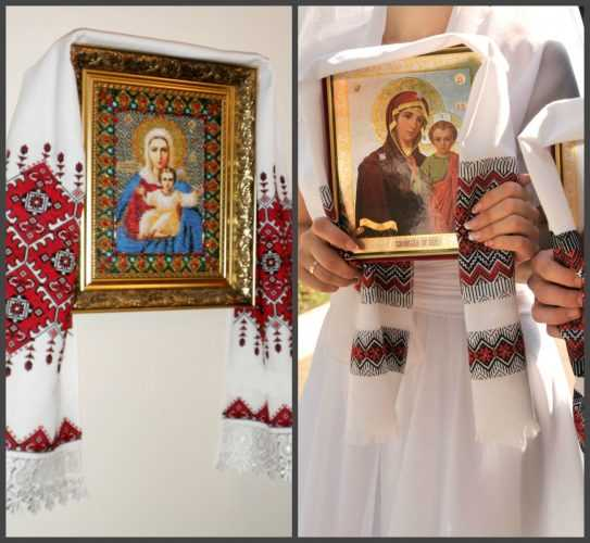 Лучший подарок на свадьбу вышитая крестом свадебная метрика по схеме и свадебный рушник