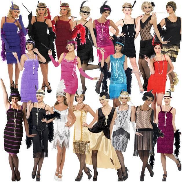 Повседневные и вечерние платья в стиле 30-х годов