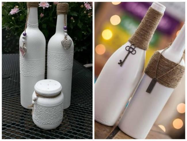 Декор бутылок своими руками: 100+ вдохновляющих идей и поэтапные мастер-классы