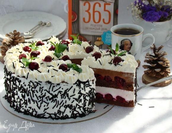 Торт шоколадный медовик: пошаговый рецепт