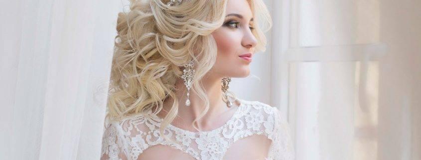 Свадебные прически для блондинок (фото)