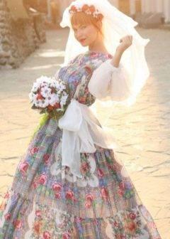 Старинный свадебный костюм на руси