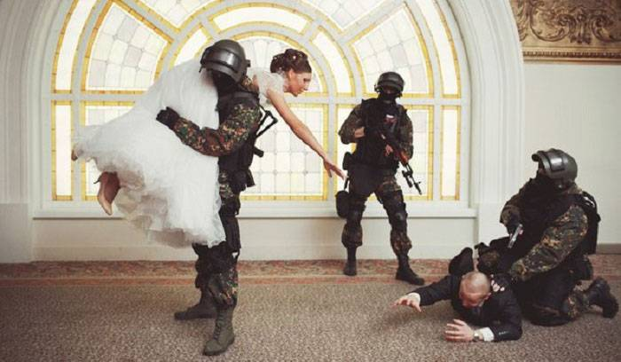 Выкуп невесты в стиле квест: готовый сценарий
