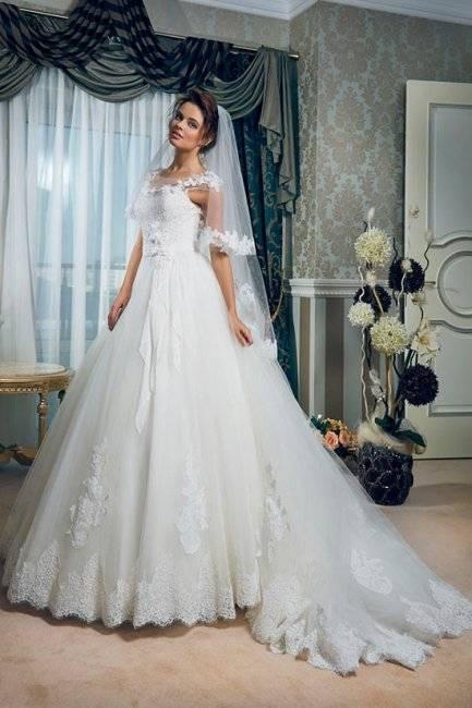 Какой может быть фата невесты