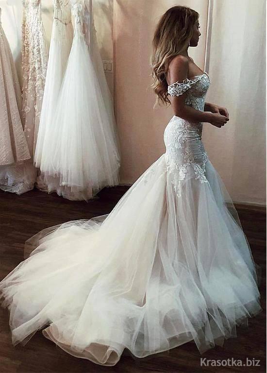 Красивые свадебные платья – 52 фото самых красивых нарядов на любой вкус