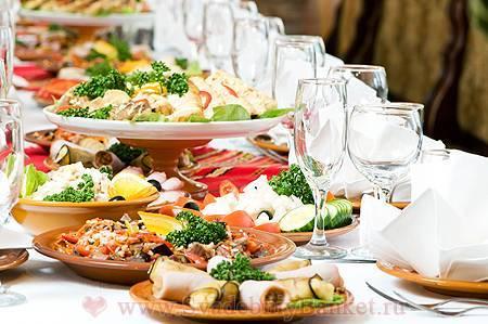 Как составить меню на свадьбу и что приготовить для свадебного стола?