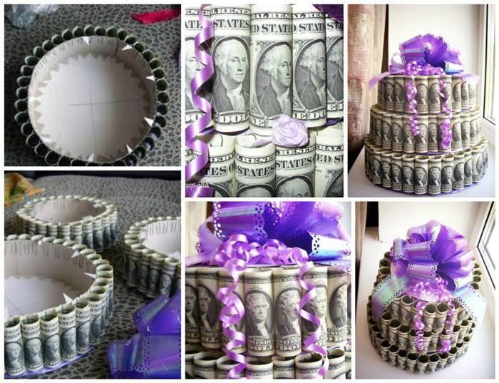 Как оригинально подарить деньги на свадьбу? 36 фото как необычно и красиво сделать денежный подарок молодоженам своими руками?
