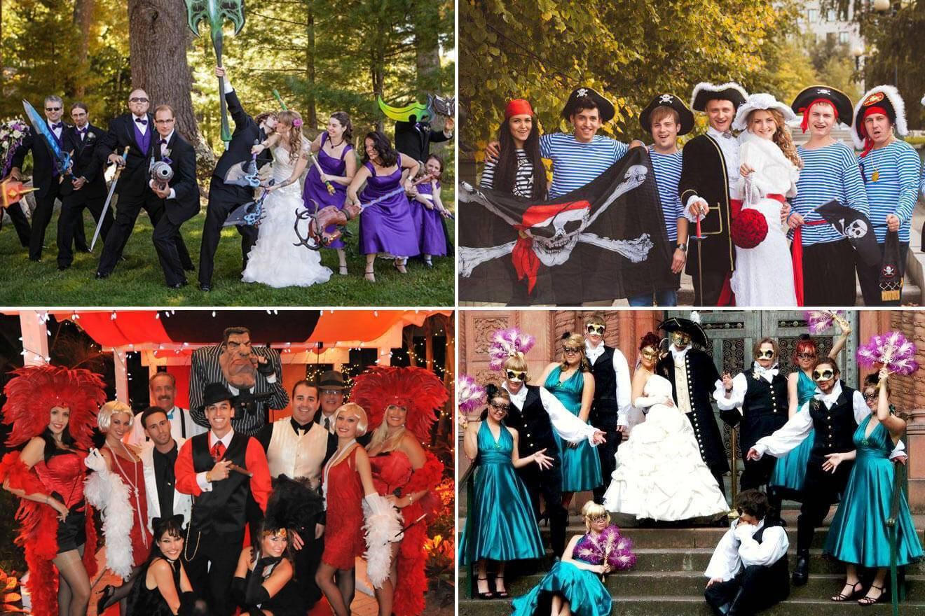 Тематические свадьбы: идеи и советы для молодожёнов