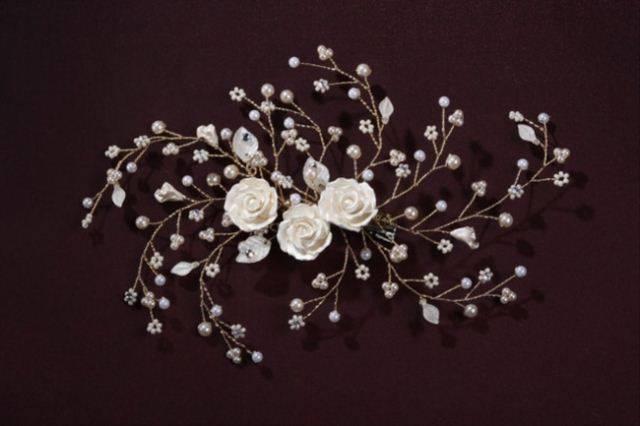Свадебные украшения для невесты: делаем аксессуары своими руками