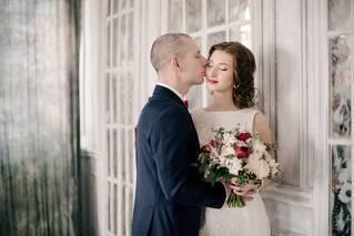Как объединить образы жениха и невесты?