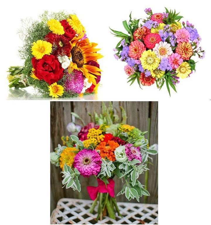 Составление букетов из живых цветов. создаем красивый и оригинальный букет невесты своими руками. изысканный букет: мастер-класс