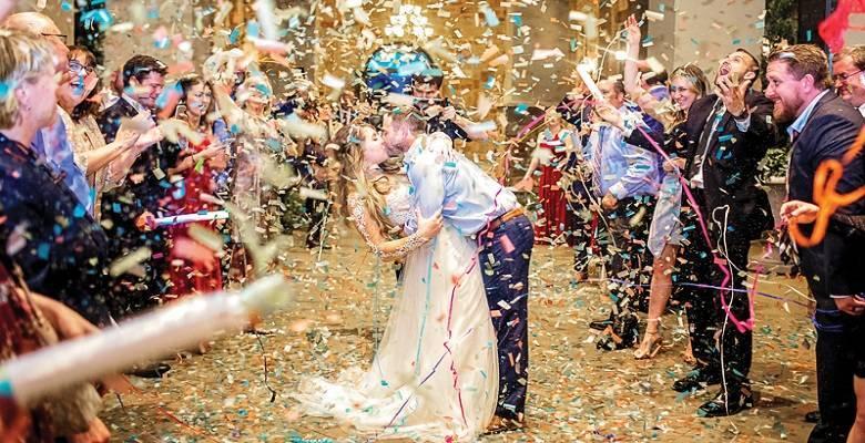 Стильная фотозона на свадьбу – необычные идеи ее оформления