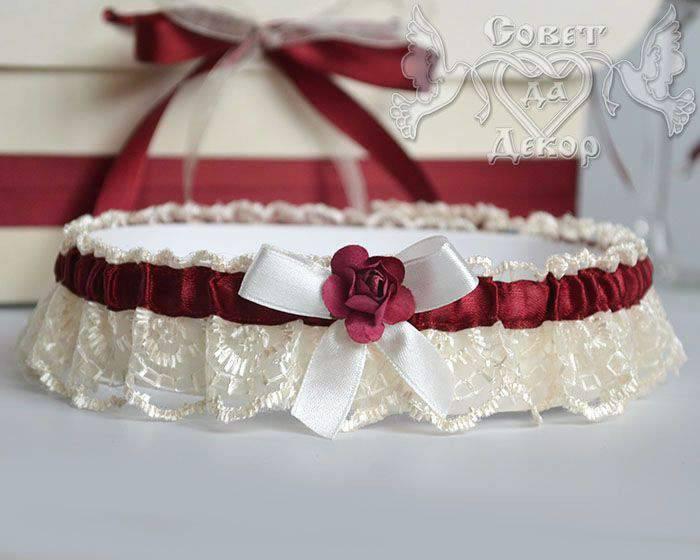 Подвязка невесты — правила создания, ношения и примеры красивого аксессуара (70 фото)