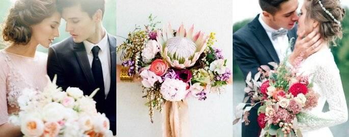 Синий букет невесты: для кого подходит и каким может быть?