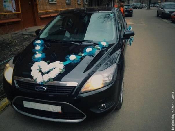 Декор предметов свадьба шитьё украшения на свадебные авто мини мк обновляется