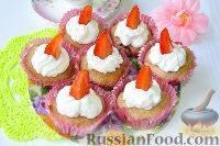 Капкейки рецепт с фото пошагово - самый популярный десерт