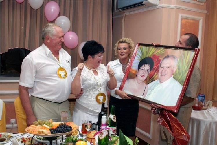 Юбилей 60 лет со свадьбы. бриллиантовая свадьба