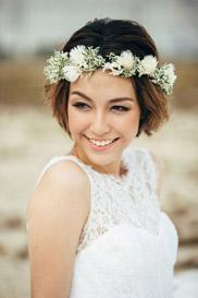 Свадебный венок – лучшие прически для невесты с венком из цветов