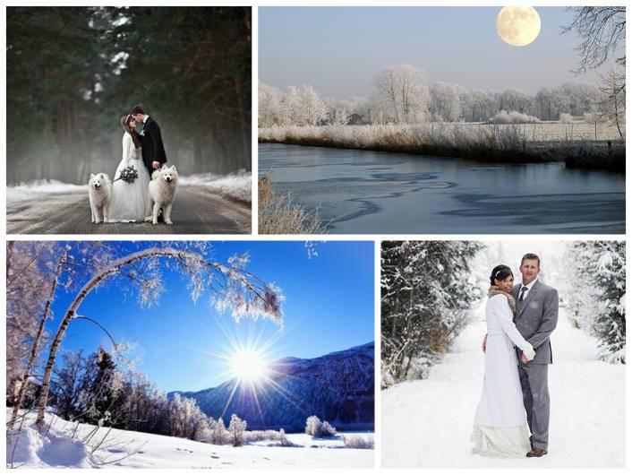 Незабываемая свадьба в январе: приметы и особенности организации
