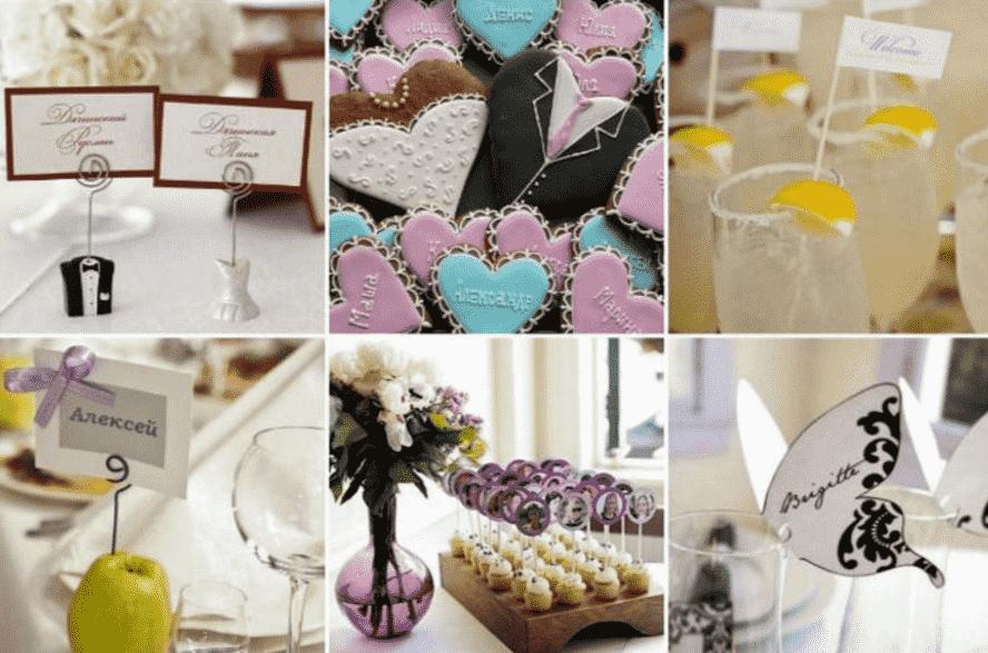 Рассадочные карточки на свадьбу своими руками: интересные идеи с фото