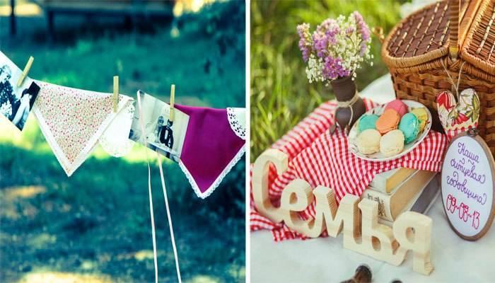 Сценарий ситцевой свадьбы на природе — отметим весело 1 год совместной жизни!