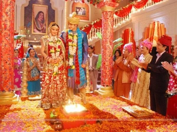 Невероятно красивая традиционная индийская свадебная церемония