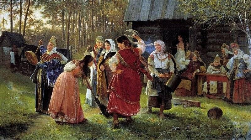 Свадебные обряды и традиции на руси