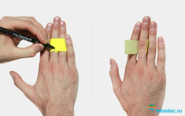 Как узнать размер кольца  на палец в домашних условиях: таблица