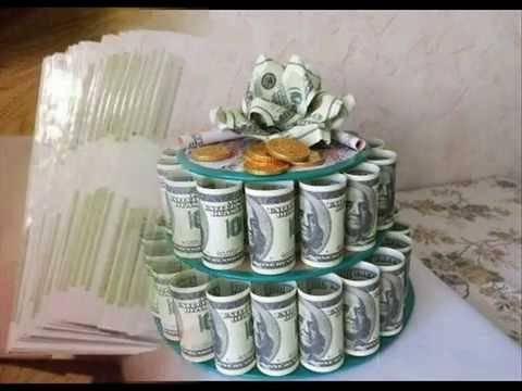 Как красиво подарить деньги на день рождения? как оригинально оформить подарок? как преподнести деньги в рамке и в банке?
