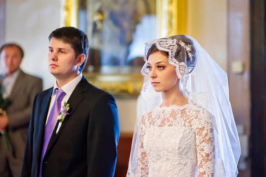 Платье для венчания в церкви: модели и фото