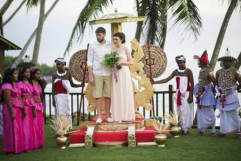 Свадебная церемония на шри ланке | шаммика