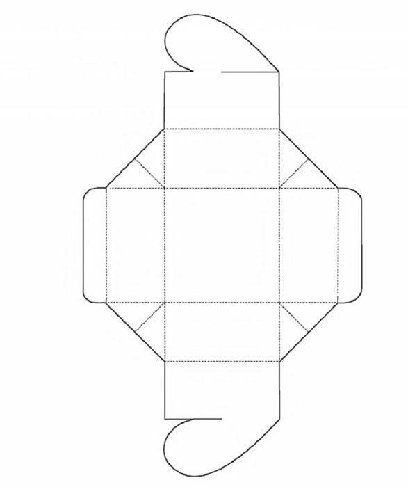 Бонбоньерки своими руками, шаблоны. бонбоньерки коробочки - мастер-класс по изготовлению с фото, готовые шаблоны