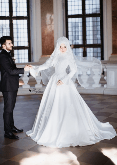 Вечерние исламские платья фото   модные  платья