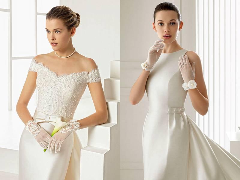Митенки – современный тренд свадебной моды