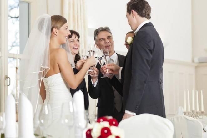 Поздравление на золотую свадьбу родителям