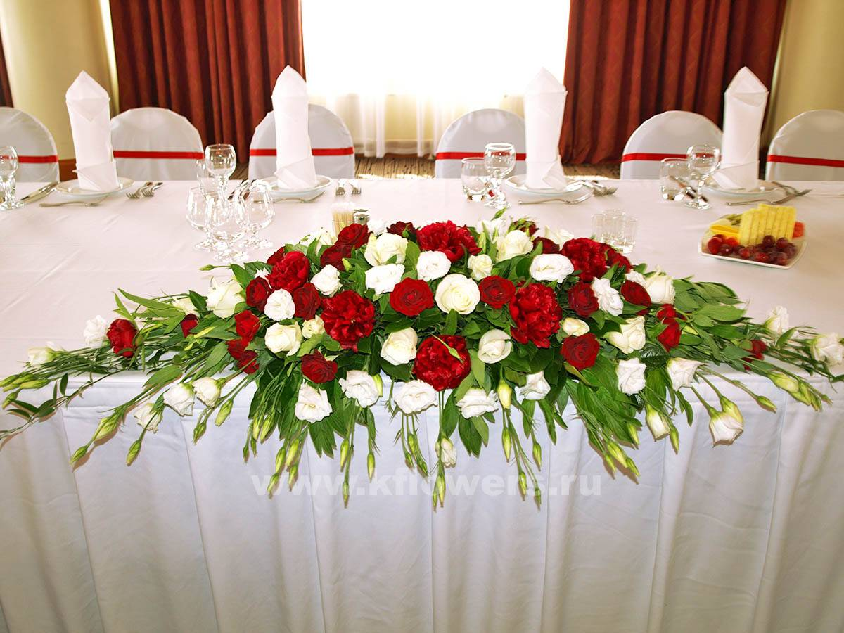 Украшение свадебного зала: лучший современный дизайн (65 фото)