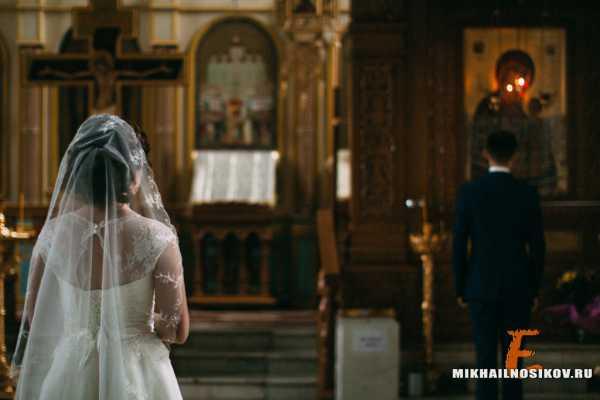 Фотографии с обряда венчания в церкви