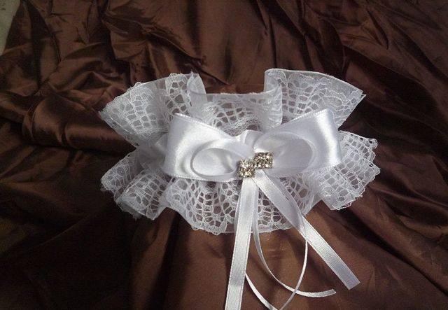 Подвязка невесты своими руками: готовимся к самому незабываемому дню вместе
