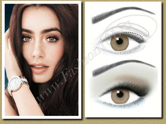 Свадебный макияж для карих глаз: советы и фото