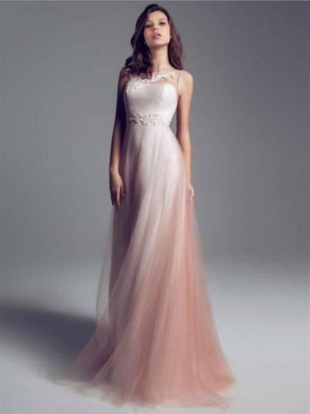 Цветные свадебные платья — идеальные решения для любой невесты (74 фото новинок дизайна)