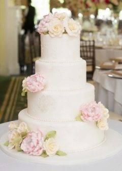 Топ-15 идей для украшения свадебного торта