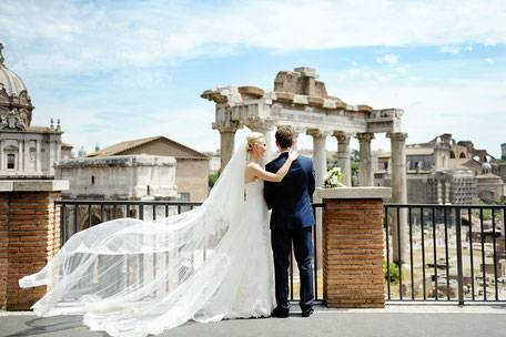 Как проходит свадьба в италии?