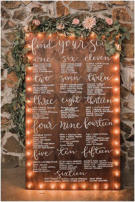 Как составить план рассадки гостей на свадьбе: советы и идеи