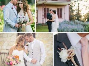 Свадьба в бирюзовых цветах — красочная феерия стиля (67 фото + видео)