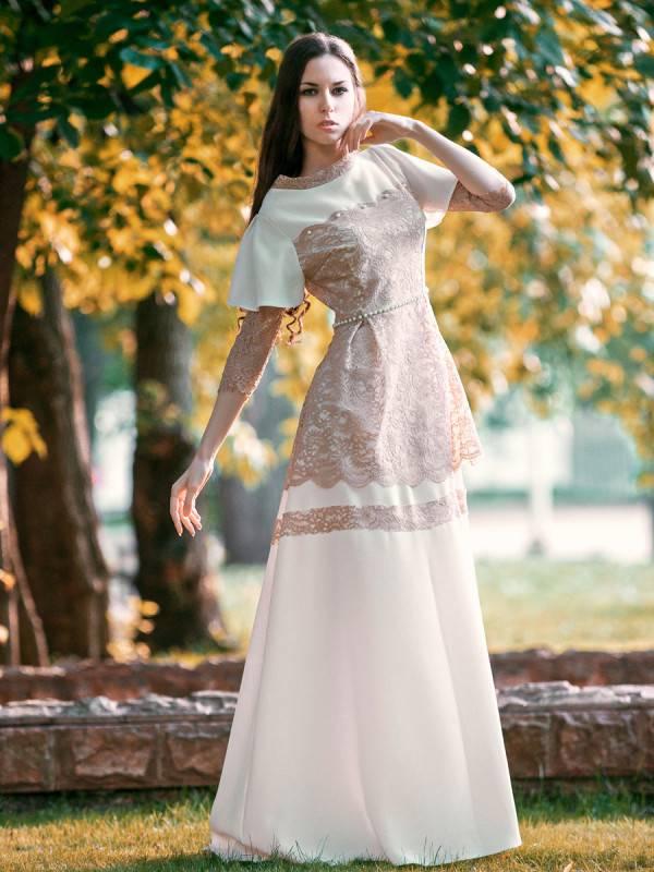 Свадебное платье в русском народном стиле: особенности славянских мотивов