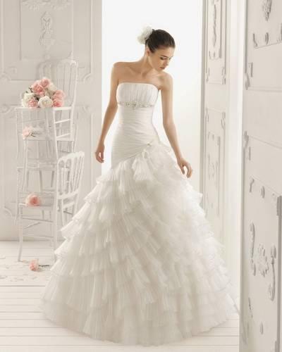 Как подобрать свадебное платье по типу фигуры