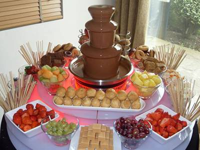 Шоколадный фонтан. какой купить, аренда, фото, как пользоваться, рецепты
