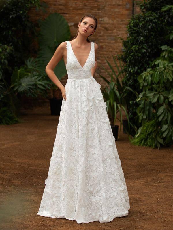 Свадебное платье с корсетом (фото и видео)