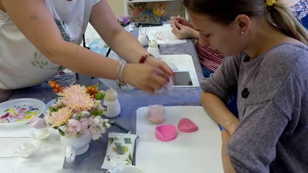 Букет из полимерной глины своими руками: мастер-класс с фото и видео